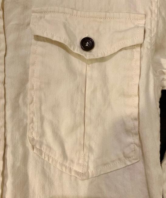 Isabel Marant Button Down Shirt Ivory Image 5