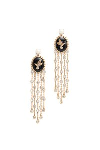 Kate Spade grandmas closet statement earrings