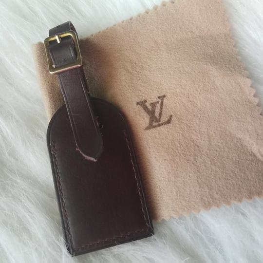 Louis Vuitton Brown Luggage ID tag For Damier Ebene PM Image 4
