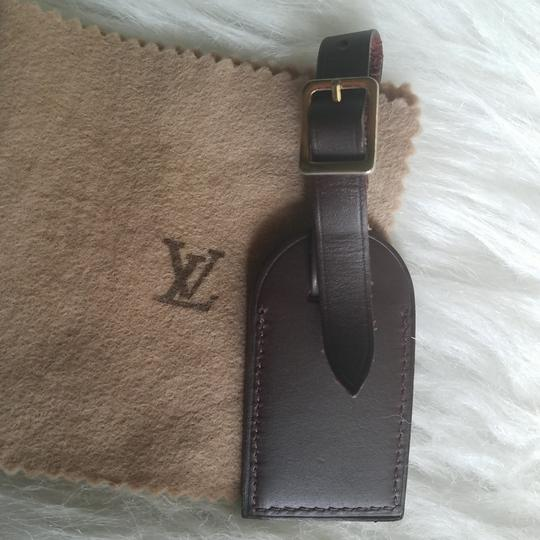 Louis Vuitton Brown Luggage ID tag For Damier Ebene PM Image 5