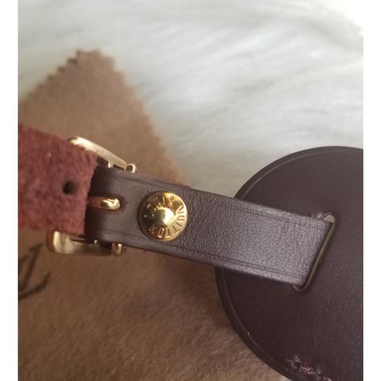 Louis Vuitton Brown Luggage ID tag For Damier Ebene PM Image 8