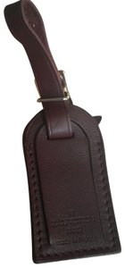 Louis Vuitton Brown Luggage ID tag For Damier Ebene PM