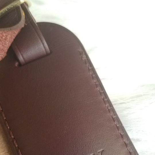 Louis Vuitton Brown Luggage ID tag For Damier Ebene PM Image 3