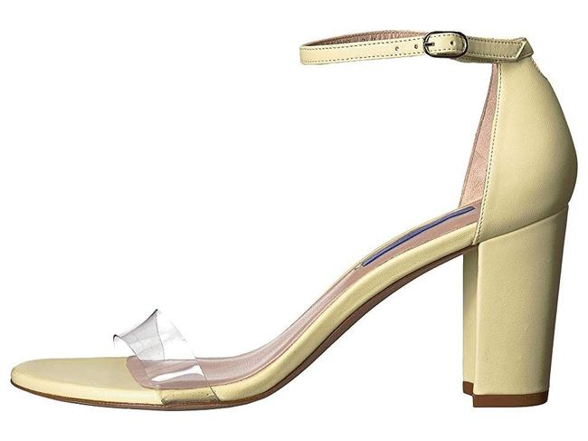 Item - Yellow Nearly Nude Clear Light Pumps Size US 8 Regular (M, B)