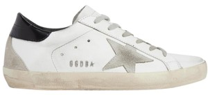 Golden Goose Deluxe Brand Ggdb Superstar Skate Sneaker White and Black Athletic