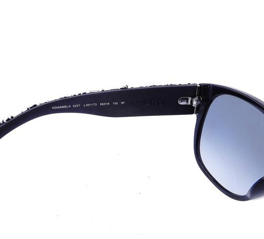 Chanel CH 5237 c.501/T3 Tweed Collection Sunglasses 56mm Image 6