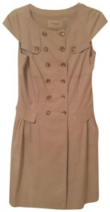 Burberry short dress khaki on Tradesy