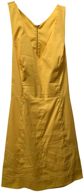 Item - Yellow Short Night Out Dress Size 8 (M)