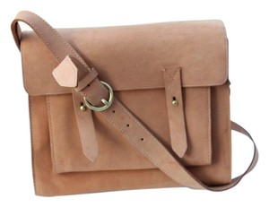 Madewell camel Messenger Bag