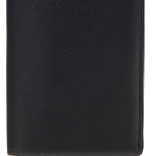 Saint Laurent YSL Black Leather Long Wallet Italy SMALL Image 9
