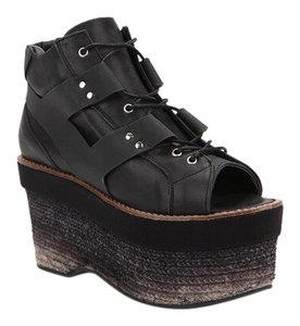 Miista Black Gradient Platforms