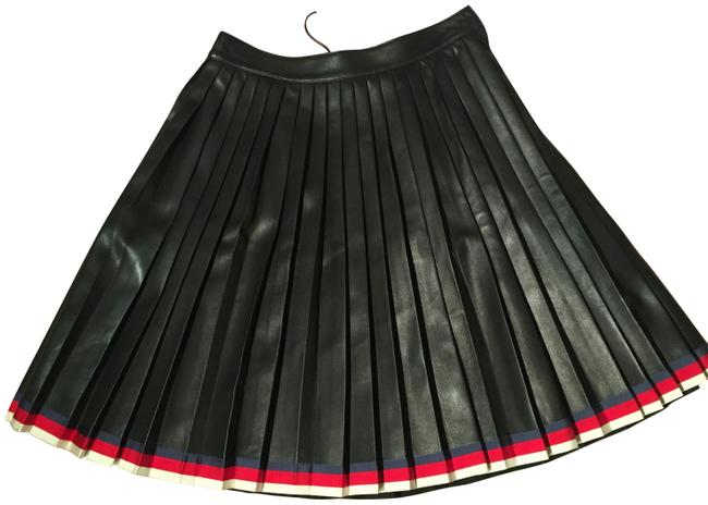 Item - Black Leather Euro 40 New with Tags Skirt Size OS (one size)