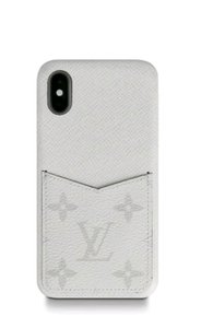 Louis Vuitton Louis Vuitton iPhone XS/X Case Bumper in Monogram Eclipse Case phone