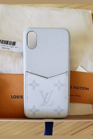 Louis Vuitton Louis Vuitton iPhone XS/X Case Bumper in Monogram Eclipse Case phone Image 7