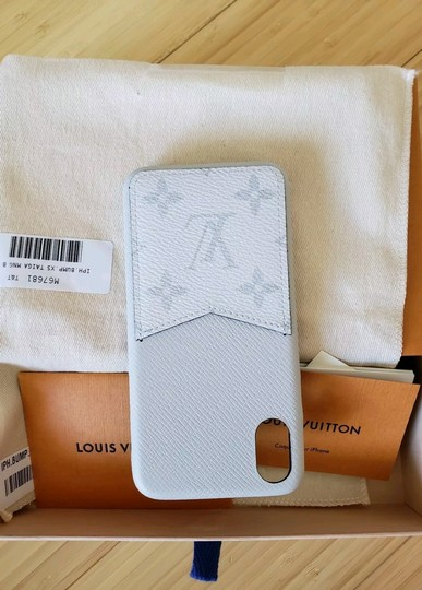 Louis Vuitton Louis Vuitton iPhone XS/X Case Bumper in Monogram Eclipse Case phone Image 8