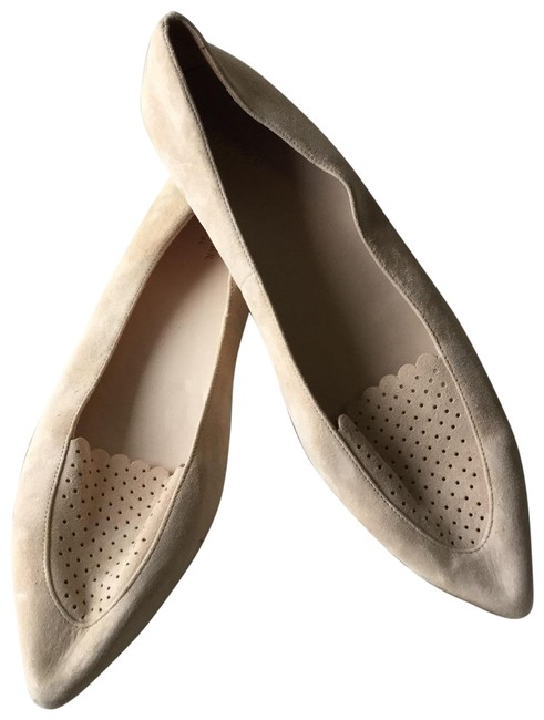Item - Rose Women's Allison Perforated Pointed-toe Flats Size US 11 Regular (M, B)