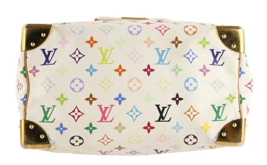 Louis Vuitton Lv Speedy White Monogram Tote in Multicolor Image 2