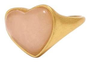 Madewell madewell Heart Rock statement ring size 7