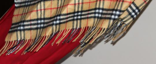 Burberry AUTHENTIC NEW Vintage Check Cashmere Bandana Scarf Image 3