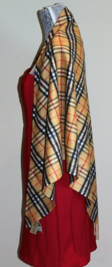 Burberry AUTHENTIC NEW Vintage Check Cashmere Bandana Scarf Image 4