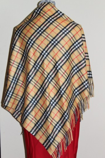 Burberry AUTHENTIC NEW Vintage Check Cashmere Bandana Scarf Image 5