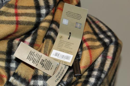 Burberry AUTHENTIC NEW Vintage Check Cashmere Bandana Scarf Image 6