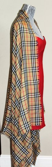 Burberry AUTHENTIC NEW Vintage Check Lightweight Cashmere Scarf Image 1