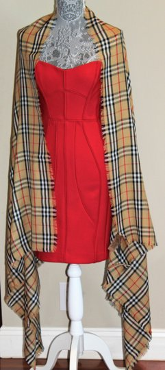 Burberry AUTHENTIC NEW Vintage Check Lightweight Cashmere Scarf Image 2