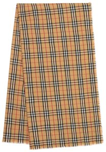 Burberry AUTHENTIC NEW Vintage Check Lightweight Cashmere Scarf
