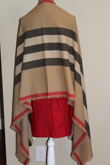 Burberry AUTHENTIC NEW Washed Wool & Cashmere Scarf Image 6