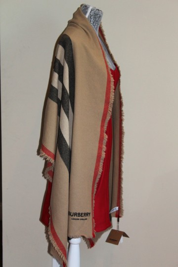 Burberry AUTHENTIC NEW Washed Wool & Cashmere Scarf Image 7