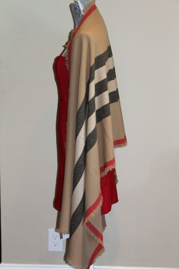 Burberry AUTHENTIC NEW Washed Wool & Cashmere Scarf Image 8