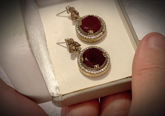 Preload https://img-static.tradesy.com/item/25882108/vintage-exquisite-feminine-ruby-red-solid-sterling-silver-925-superb-quality-earrings-0-0-540-540.jpg