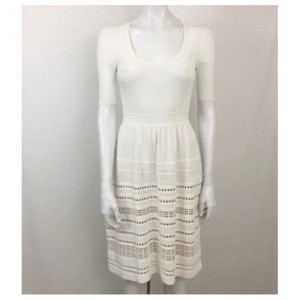 PAULE KA short dress White on Tradesy