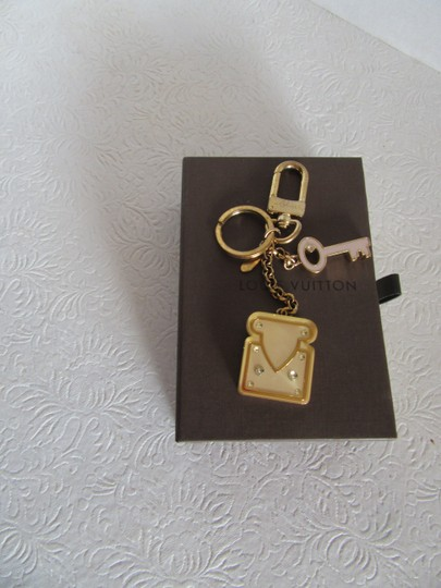 Louis Vuitton Louis Vuitton Handbag Charm Key Holder DP1113 Authenticity Verified Image 2