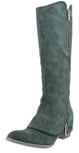 Donald J. Pliner green / Black Boots