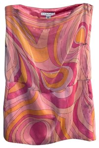 Laundry by Shelli Segal Top Pink and Orange