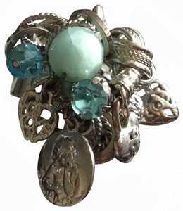 Neiman Marcus large charm ring