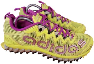 adidas All Terrain Vigor Tr 3 Trail Running Woman Size 7.5 lime and purple Athletic
