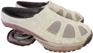 Z-Coil Woman Woman Size 10 Suede GRAY Mules