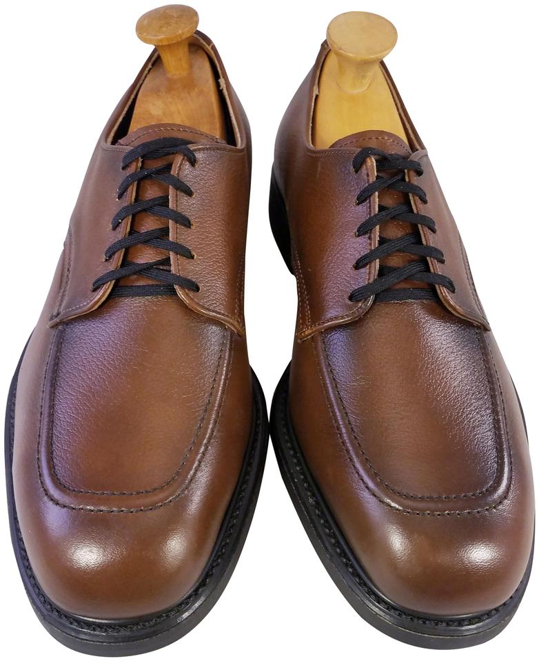 retro lowest price catch Brown Vintage New Man Oxfords Mailman Steel Toe 8. Formal Shoes Size US 8.5  Extra Wide (Ww, Ee)