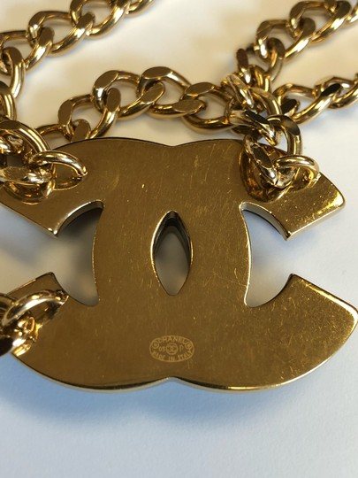Chanel Chanel Gold Chain Belt Image 2