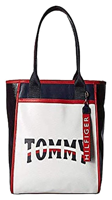 Item - Ames Patches Women's Blue/Gray Faux Leather Tote