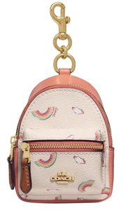 Coach backpack coin case