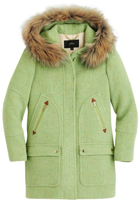 Item - Green Yellow Nwt. Chateau Parka Coat Size Petite 6 (S)