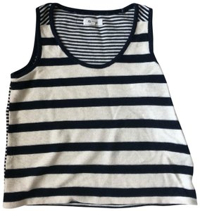 Madewell Top blue, white