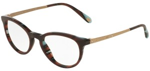 Tiffany & Co. TF2128-B-F 8207 50mm RX Prescription Eyeglasses Frames Italy