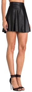 David Lerner Mini Skirt black with tag