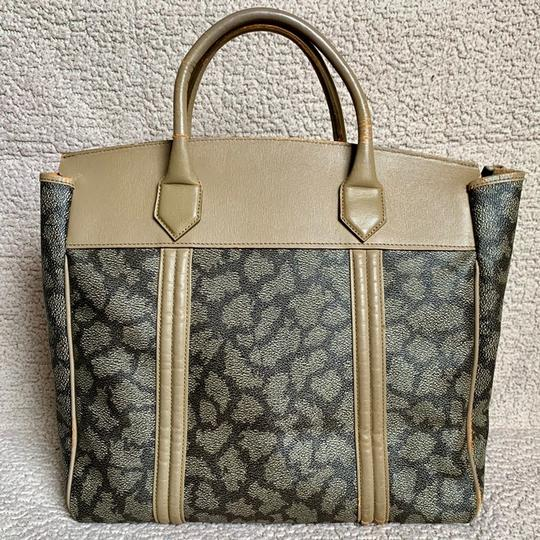 Saint Laurent Satchel in Giraffe Pattern Image 1