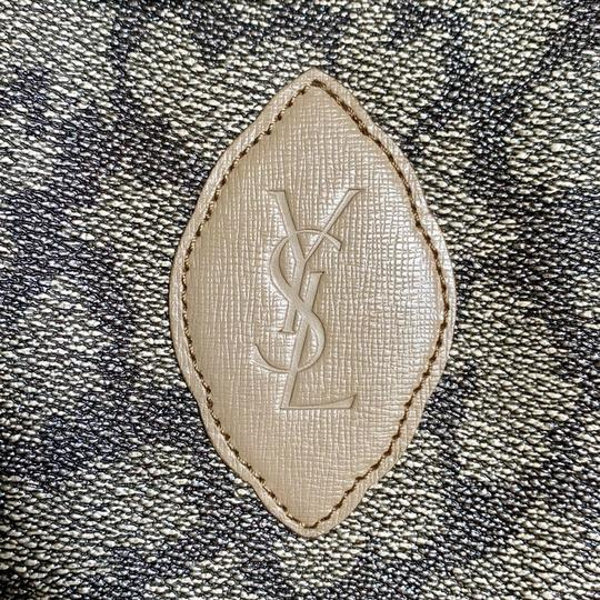 Saint Laurent Satchel in Giraffe Pattern Image 2